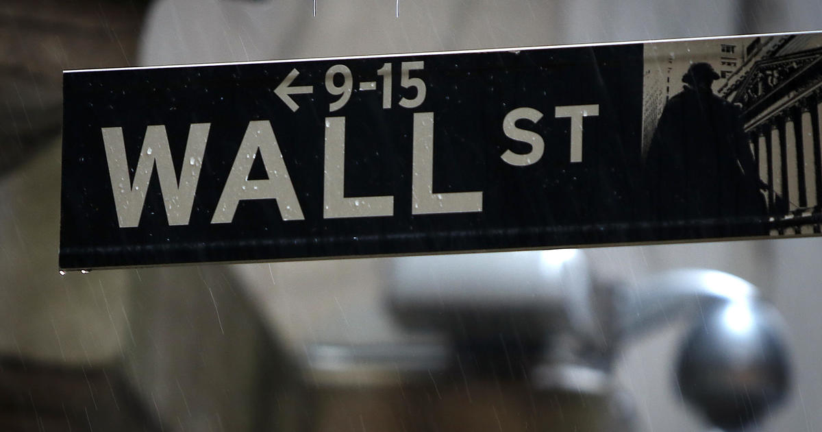 Wall Street Drops Sharply One Day After Giant Rally Cbs News