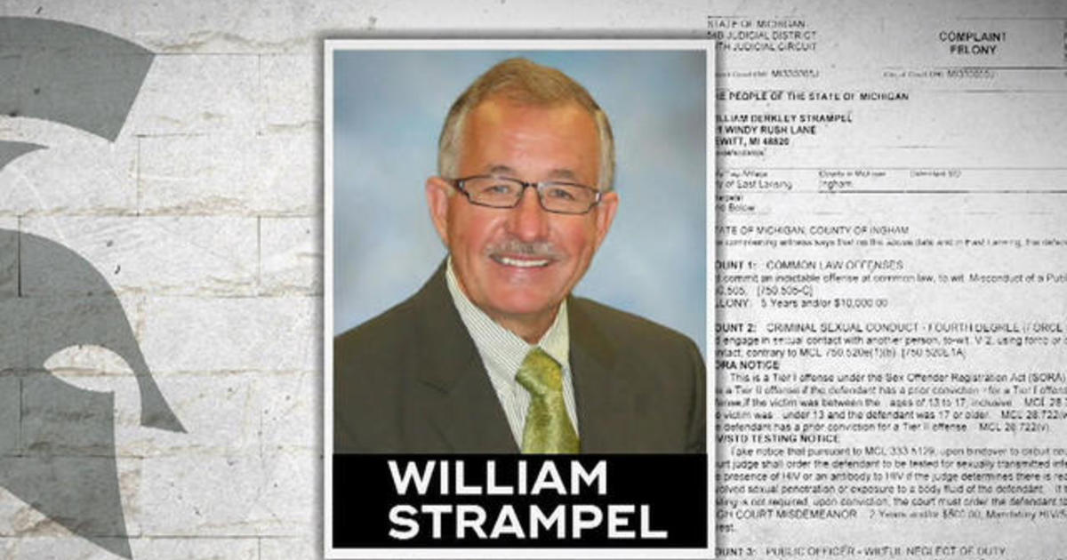 Former Michigan State dean William Strampel accused of storing nude photos  of students