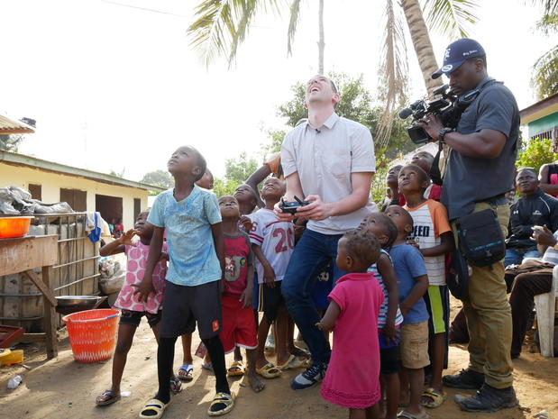 """""""On the Road"""" in Liberia"""