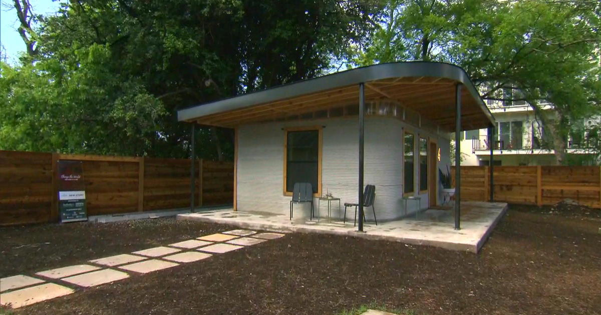 Startup 3D Prints House In Hours For A Fraction Of Average Home Cost   CBS  News