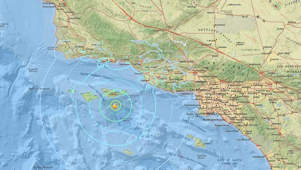 5.3 magnitude quake rattles Southern California