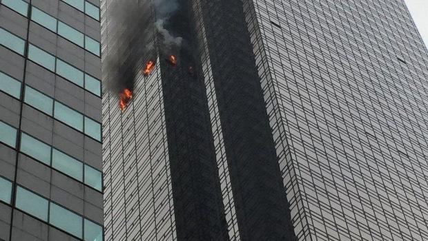FDNY battling fire at Trump Tower