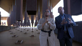 Inside the memorial to victims of lynching