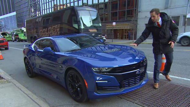 Chevy camaro 2019 first look cbs news publicscrutiny Image collections