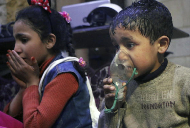 possible chemical attack syria