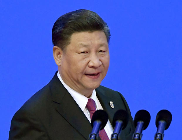 Chinese President Xi Jinping delivers a speech at an annual meeting of the Boao Forum for Asia in Boao