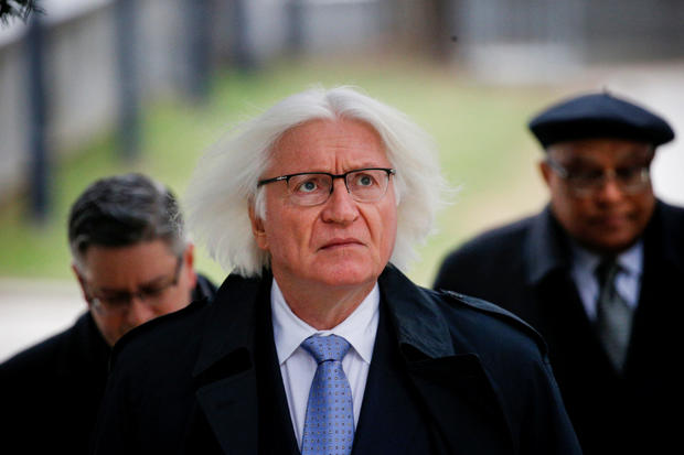 Lawyer for actor and comedian Bill Cosby, Tom Mesereau, arrives for jury selection for Cosby's sexual assault trial at the Montgomery County Courthouse in Norristown, Pennsylvania