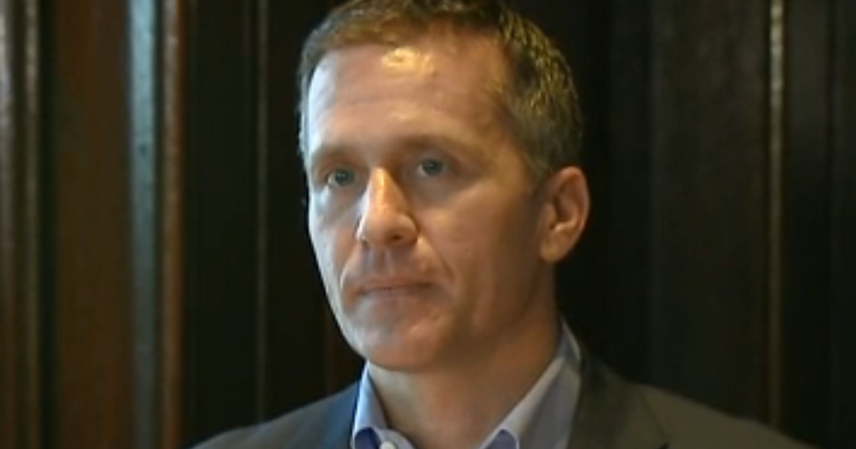 Greitens report: Missouri Gov. Eric Greitens accused of unwanted sex in graphic report - CBS News