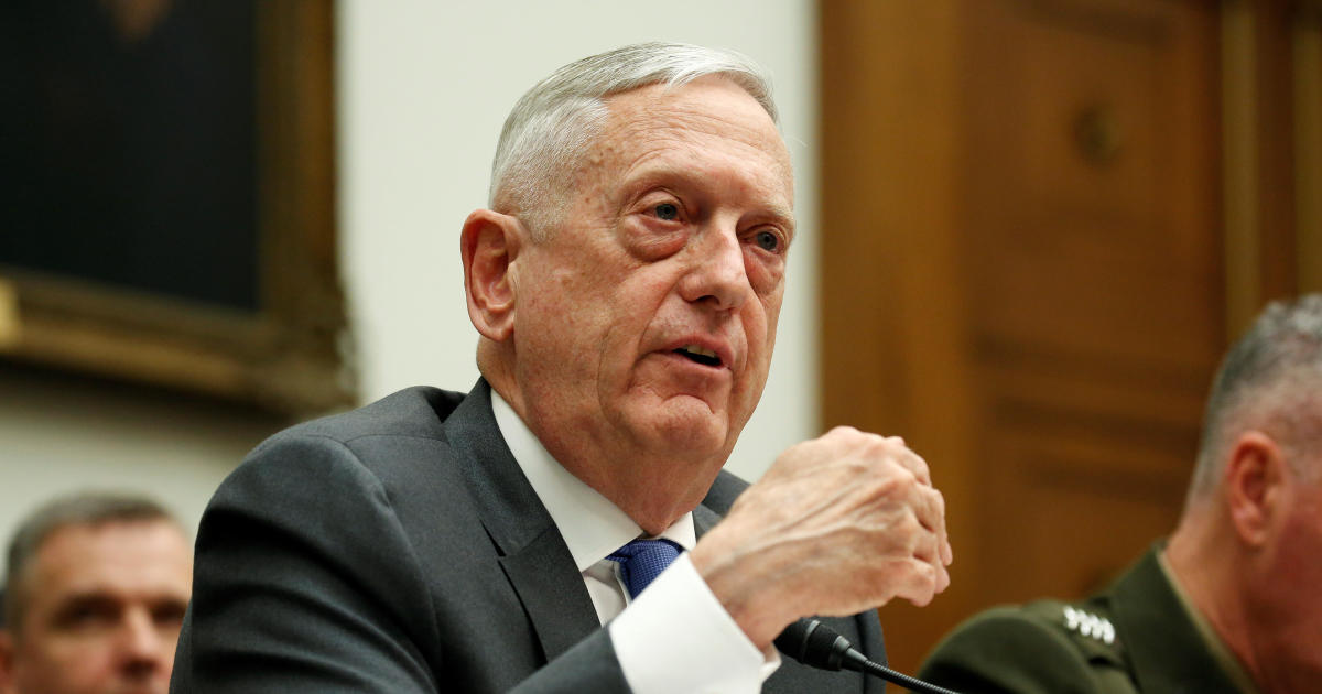 """U.S. """"looking for the actual evidence"""" of Syria chemical attack, Mattis says"""