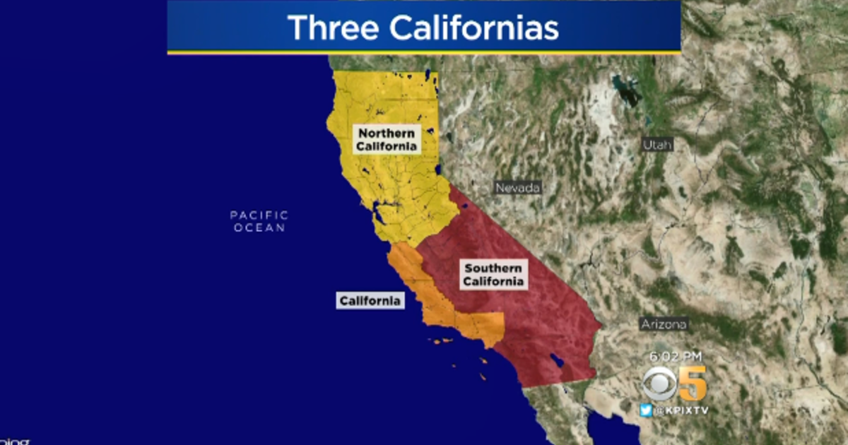 California divided into 3 states? Voters could decide to vote on
