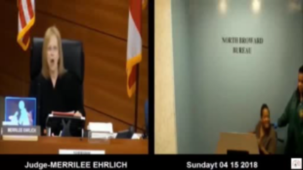 Judge Merrilee Ehrlich punished for berating ailing inmate who later