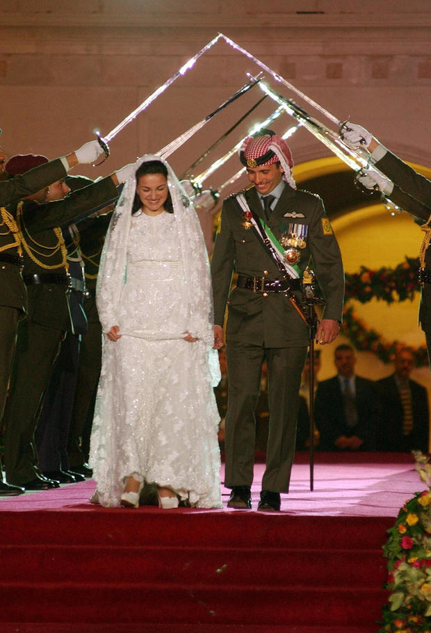 Jordan's Crown Prince Hamza and his brid