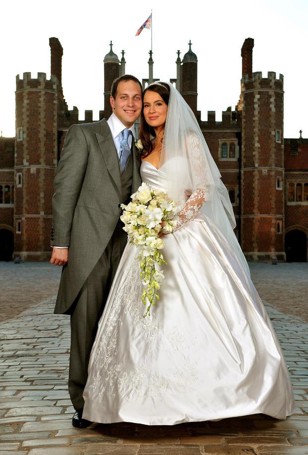 Lord Freddie Windsor And Sophie Winkleman Wedding