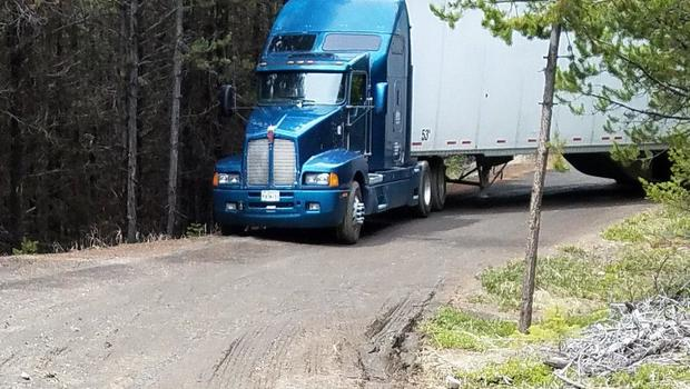 Fault Locating Truck : Driver with truck full of potato chips gets lost for days doesn t