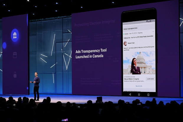 Mark Zuckerberg f8 conference 2018