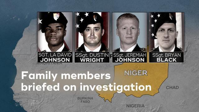 Niger ambush that killed 4 American soldiers blamed on