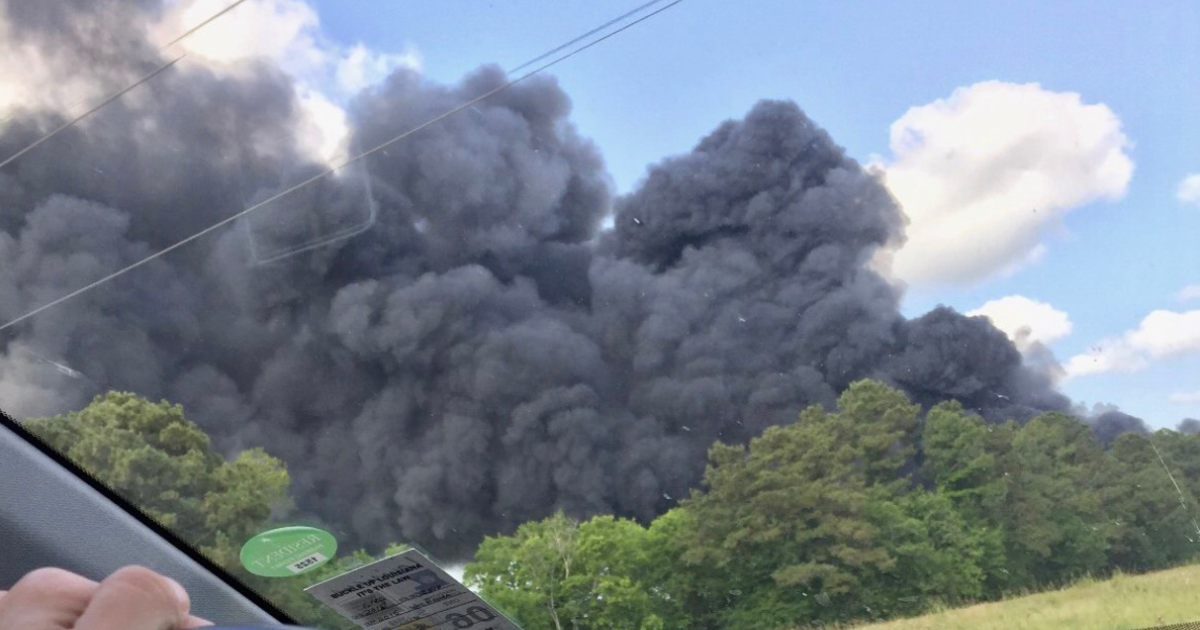 Chemical plant fire in Louisiana: Explosions heard at FlowChem