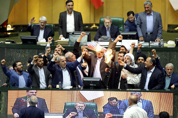 APTOPIX Iran Trump Nuclear Deal