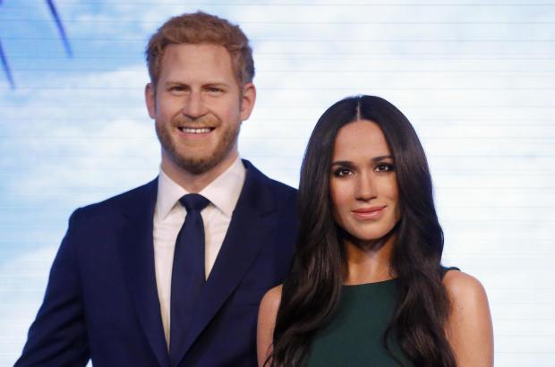 Britain Tussauds Royals