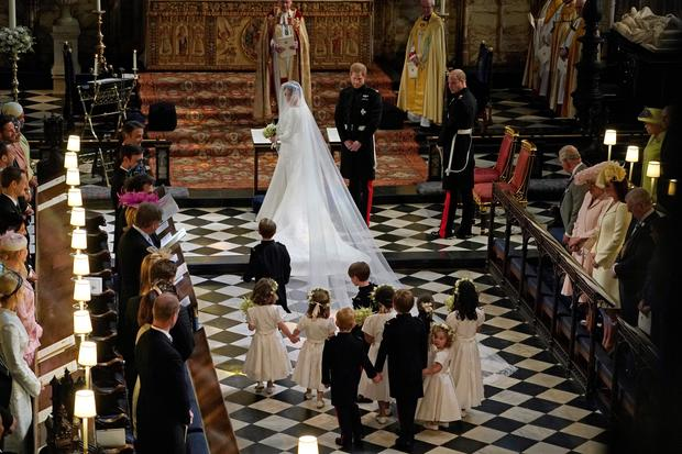 Kids Of The Royal Wedding Prince Harry And Meghan S Bridesmaids Page Boys Pictures Cbs News