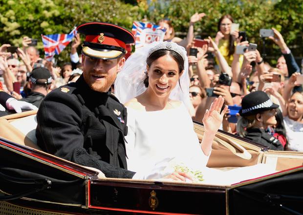 Prince Harry and Meghan Markle's royal wedding