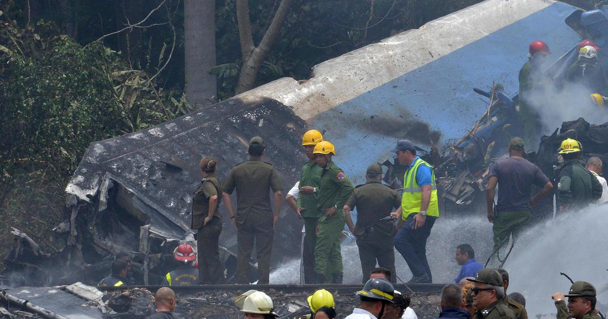 Cuba plane crash: 3 survivors in Cuba's worst aviation disaster in 3 decades