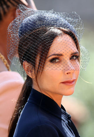 379d32825 Victoria Beckham - Hats and fascinators: Style at the royal wedding ...