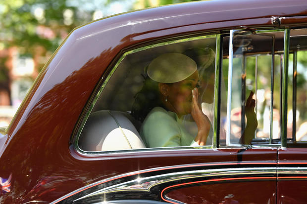 Meghan Markle Arrives At Windsor Castle Ahead Of Her Wedding To Prince Harry