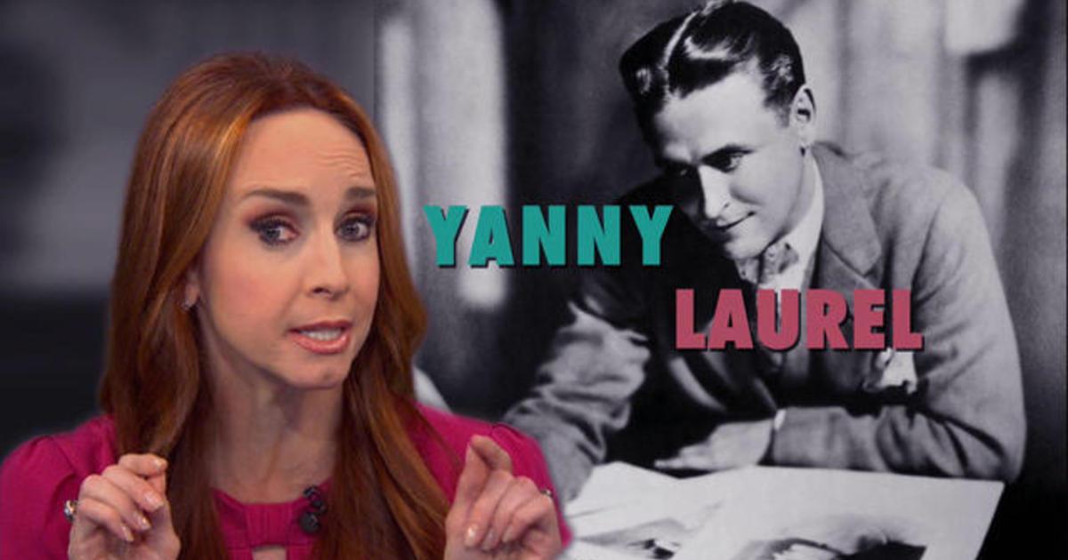 Do you hear what I hear? Laurel vs. Yanny - CBS News