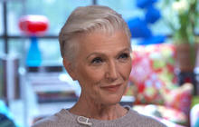 Model Maye Musk on fighting temptation