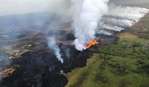 Crews struggle to protect Hawaii power plant from red-hot lava flow