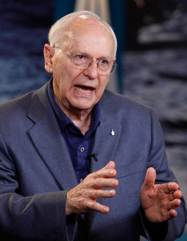 Apollo Astronauts Mark 40th Anniversary Of Lunar Landing At NASA HQ