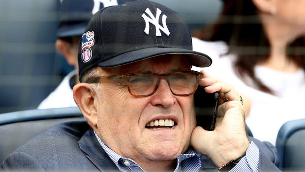 Rudy Giuliani gets booed on his birthday at Yankee Stadium
