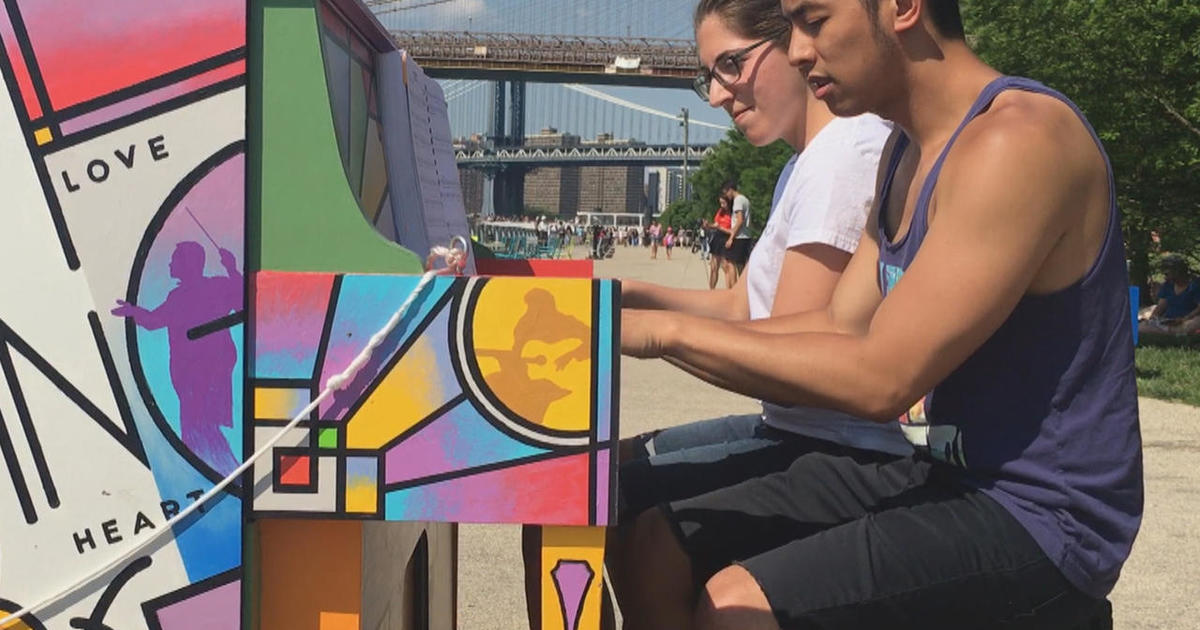 Music of the streets: New York City's public pianos