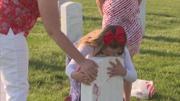 Gold Star children help others through the grief of losing a