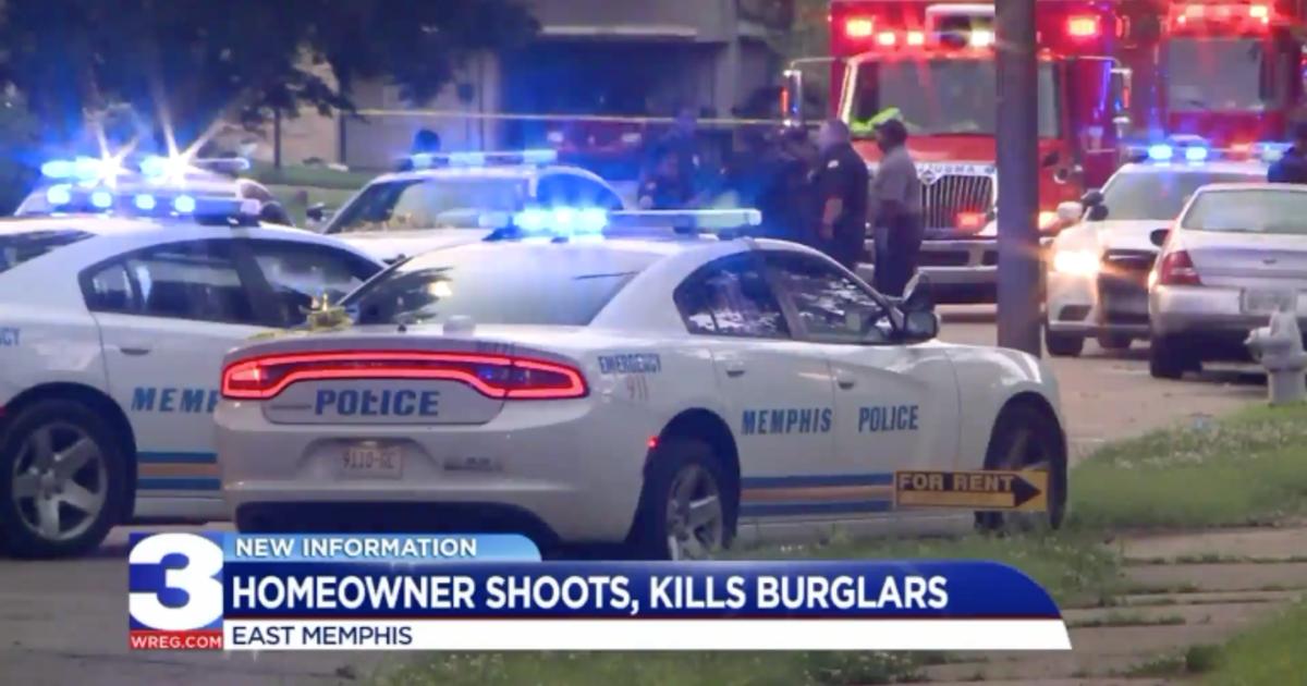 Memphis homeowner grabs his AK-47, kills two burglars - CBS News