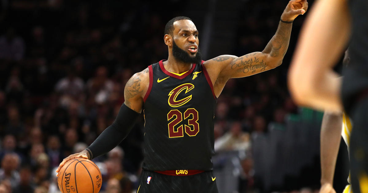 2bf0c074f41 LeBron James facing last game with Cleveland Cavaliers after Golden State  Warriors  110-102 win in NBA Finals Game 3  - CBS News