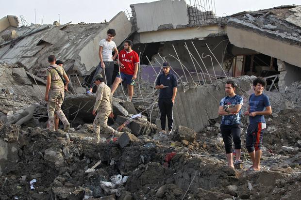 IRAQ-CONFLICT-BLAST