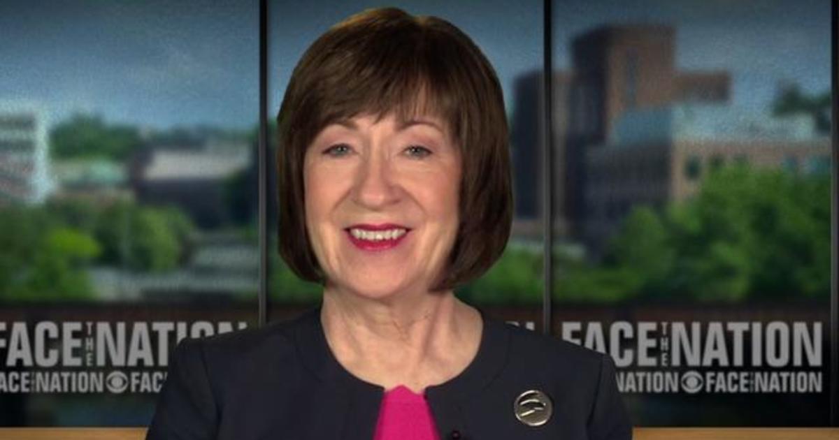 """Transcript: Sen. Susan Collins on """"Face the Nation,"""" June ..."""
