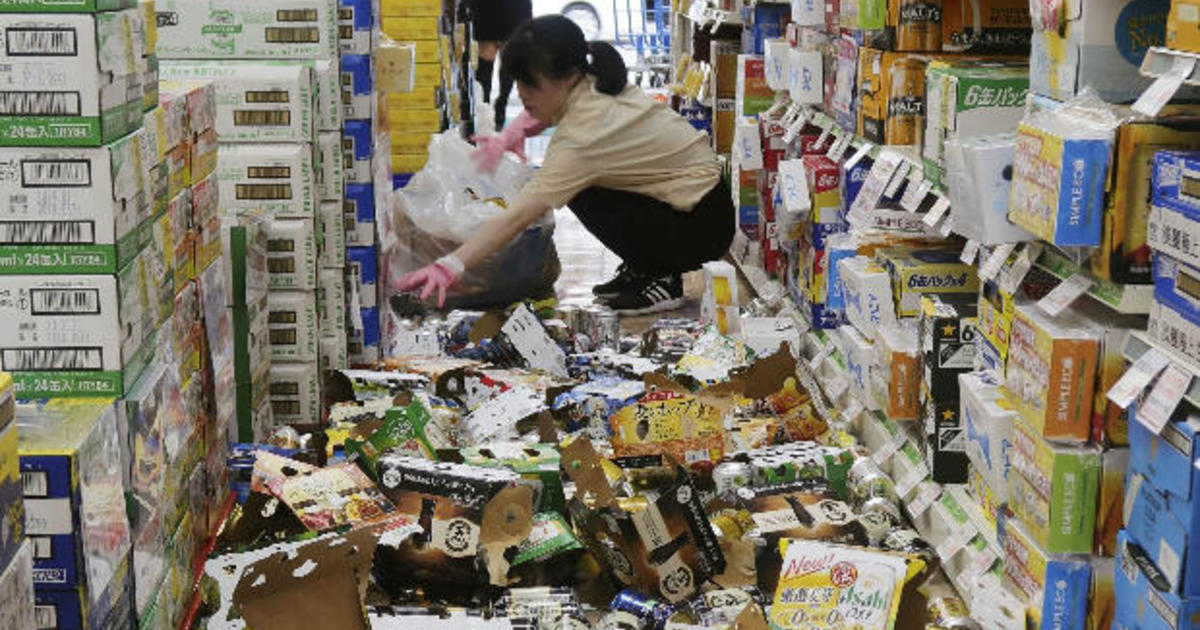 Japan earthquake today in Osaka: Death toll climbs after 6.1 quake, damage to buildings - CBS News CBS ...