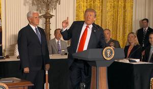 "Trump announces plan to establish new ""Space Force"""