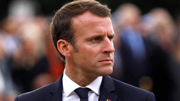 Hows It Going Manu Emmanuel Macron Scolds Teenager For Calling Him By Nickname At French Resistance Event Today Cbs News