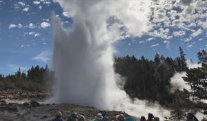 Why is Yellowstone's Steamboat Geyser erupting?