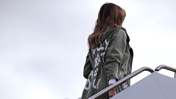melania trump - jacket