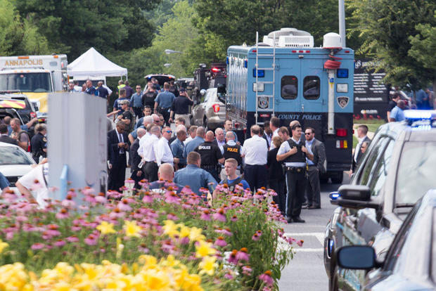 Multiple People Shot In Capital-Gazette Newspaper Building In Annapolis