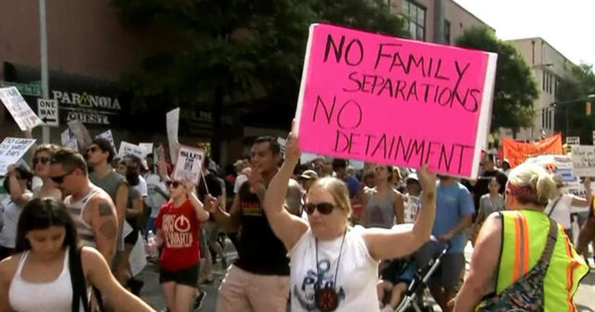 Ted Video 1602 How Childhood Trauma >> Americans March In Rallies Across The Country To Protest Immigration Policies