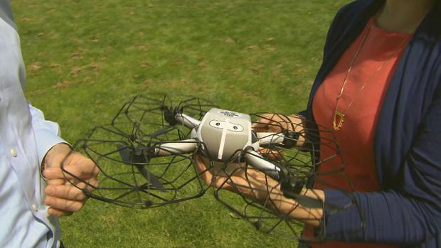 Drones offer safe alternative to fireworks