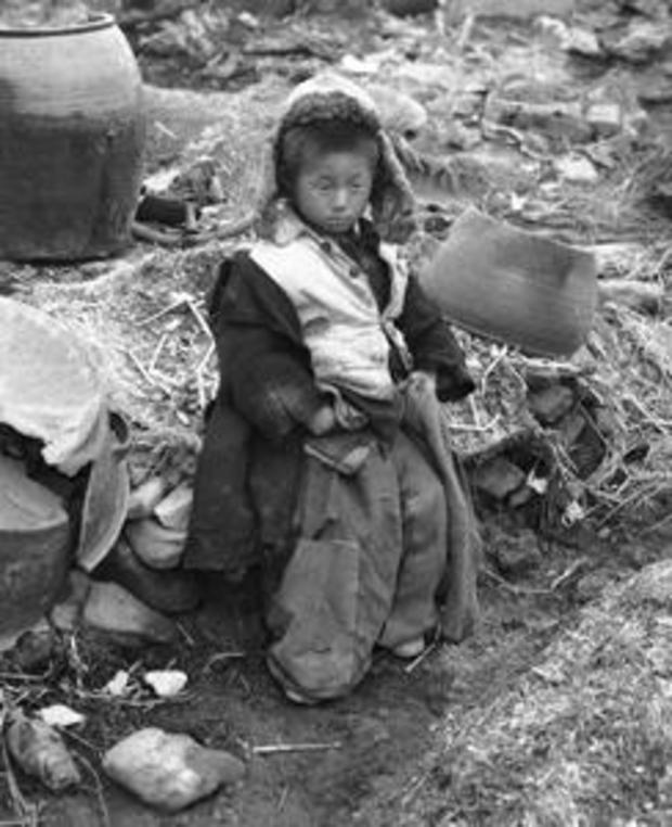 Korean War Orphan 1951