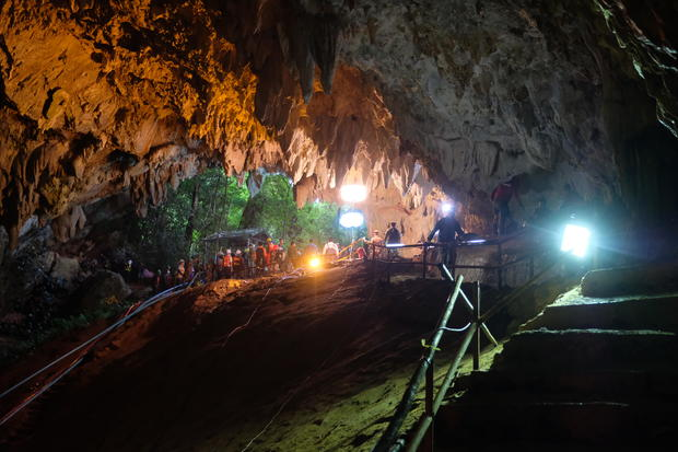 Thailand Cave Rescue For Missing Soccer Team