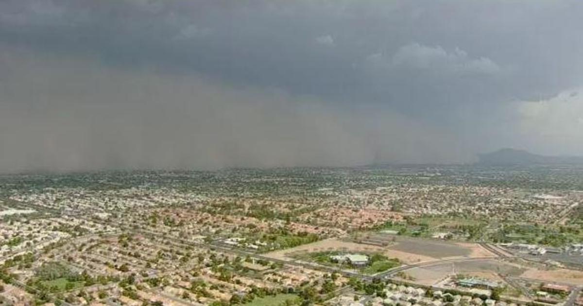 phoenix  arizona hit by monsoon  dust storm  cancelling